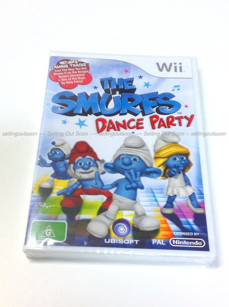 The Smurfs Dance Party for Nintendo Wii