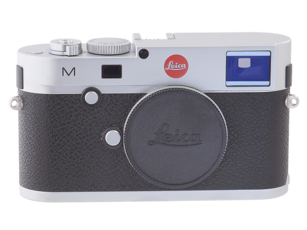 Rare Leica M 240 Digital Camera Body (Silver) #4822416 Rated 9+/10 Includes Leica EVF, Leica Leather Case and Leica Soft Release Set
