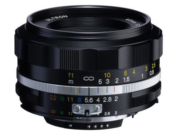 Voigtlander 40mm f/2 Ultron SL-IIs ASPH Lens (Nikon Mount) NEW Updated 2017 Version