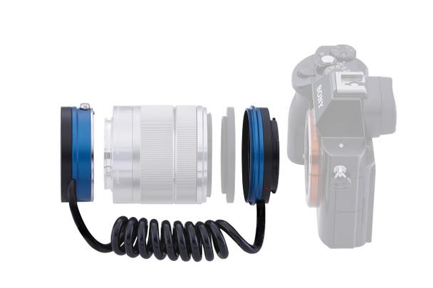 Novoflex NEX-RETRO Lens Reversing Unit for Sony E-mount. Availability 7 to 14 days.