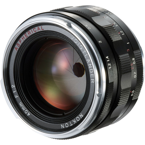 Voigtlander 40mm f/1.2 Nokton Aspherical Lens - M Mount (Rare Official Australian Stock, Exclusive TRIPLE Australian Warranty)