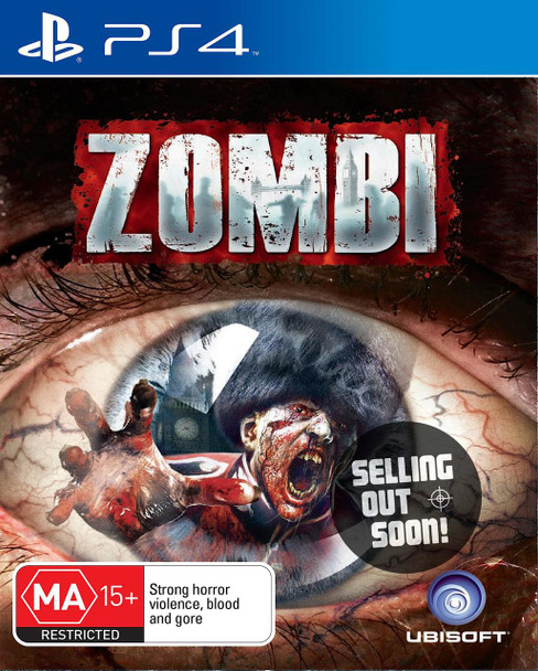 ZOMBI (PS4) Very Rare Australian Edition Game