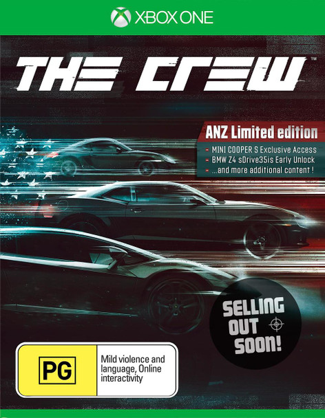 The Crew ANZ Limited Edition (Xbox One) Rare Australian Edition