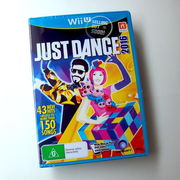 Just Dance 2016  (Wii U) Rare Unlimited Australian Version