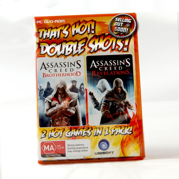 [DOUBLE PACK] Assassin's Creed Brotherhood + Revelations (PC) Game Software, Windows 8 7 XP Vista