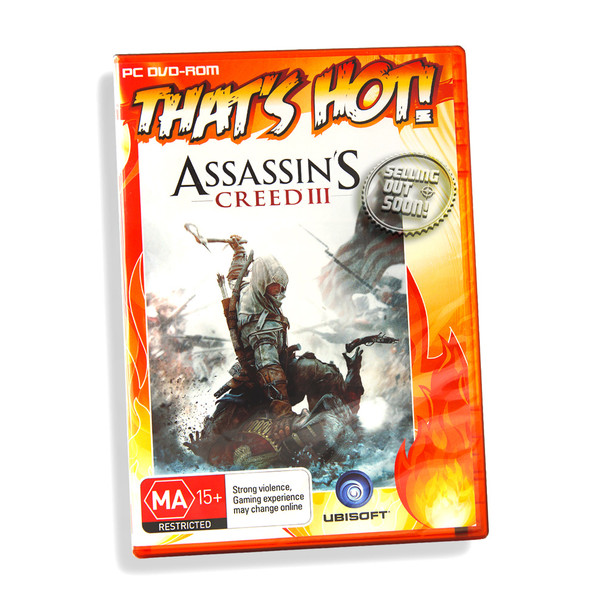 Assassin's Creed III 3 (PC) Game Software, Windows 8 7 Vista SP2