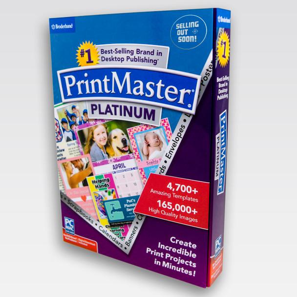 PrintMaster Platinum 7 (PC) Software, Windows 10 8 7 Vista