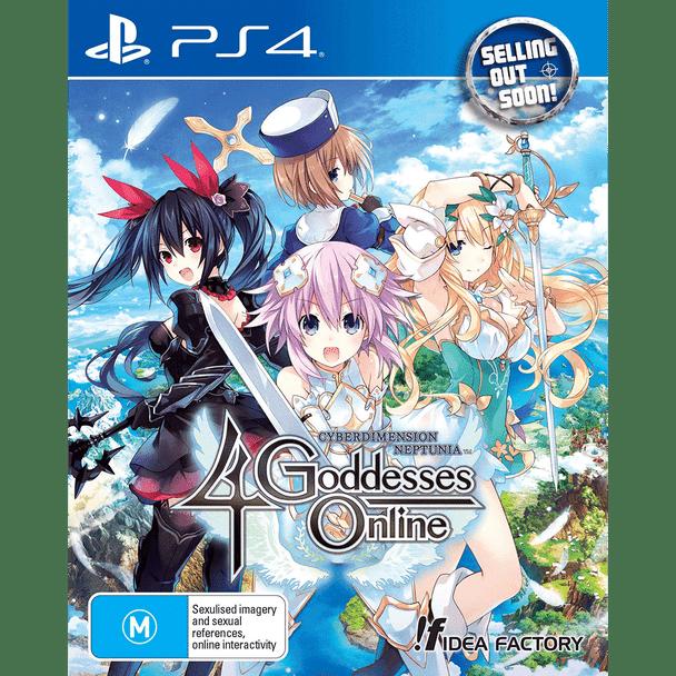 Cyberdimension Neptunia 4 Goddesses Online (PS4) Very Rare Australian Edition