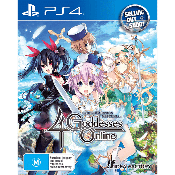 Cyberdimension Neptunia 4 Goddesses Online (PS4) Very Rare Australian Edition