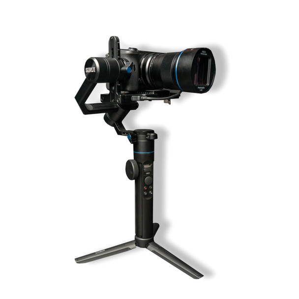 Sirui Filmmaker's kit [Fuji X-mount] includes 50mm f/1.8 1.33x Anamorphic lens and Sirui Swift P1 Gimbal + 6 Year Australian warranty