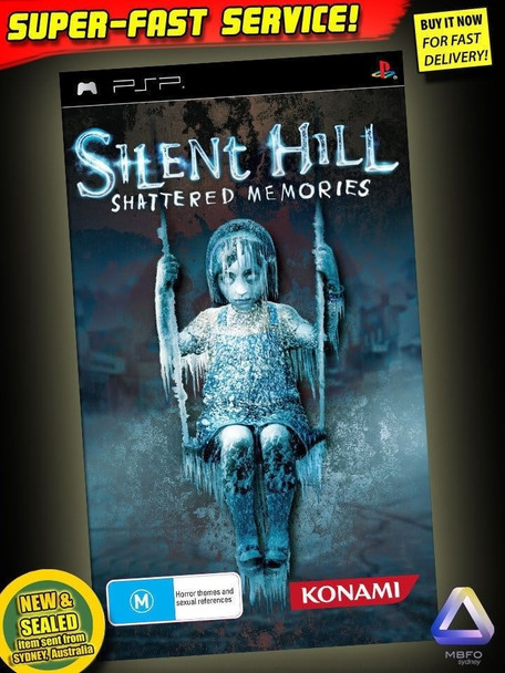Silent Hill Shattered Memories Sony PSP Very Rare PAL Version