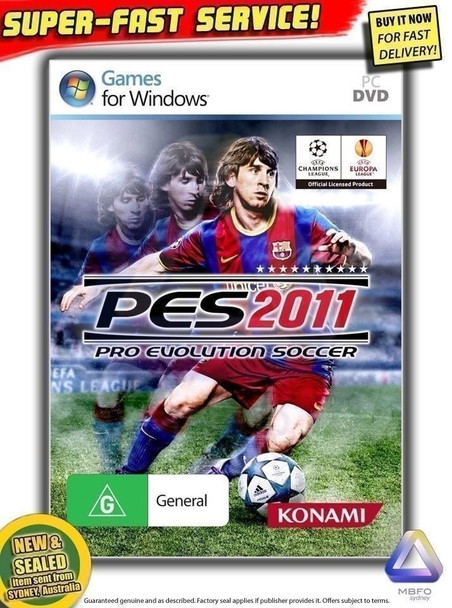 Pro Evolution Soccer 2011 PC PES 11 - The Official World Cup Football Game