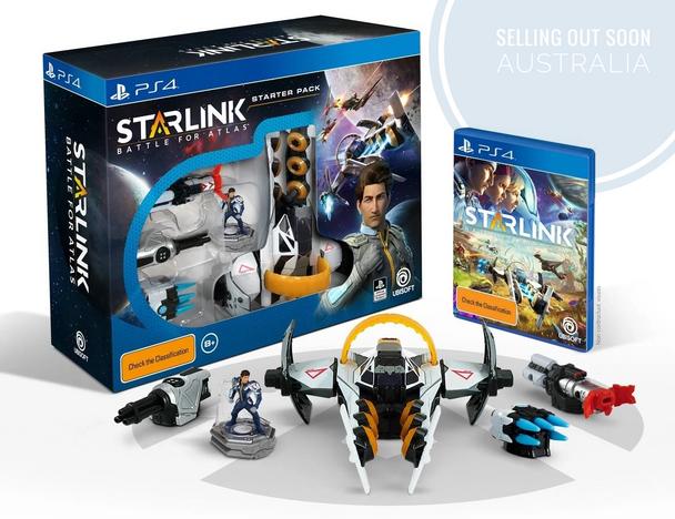 Starlink Battle for Atlas Starter Pack - Includes Game - Plus Pack PS4 Australian Version