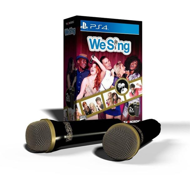 We Sing game + 2 Premium USB Microphones (PS4) PAL (UK, AU, NZ)