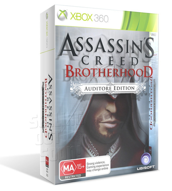 Assassin's Creed: Brotherhood Auditore Edition (Xbox 360) Rare Australian Version