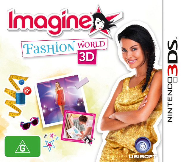 Imagine: Fashion World 3D (Nintendo 3DS 2DS 3DSXL n3DS)