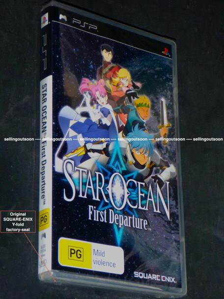 Star Ocean: First Departure (PSP) Very Rare Australian Version