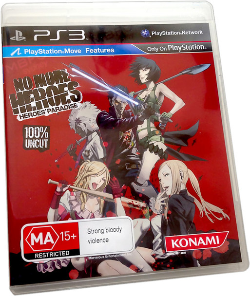 No More Heroes: Heroes' Paradise (Collectors Uncut Edition) (PS3)