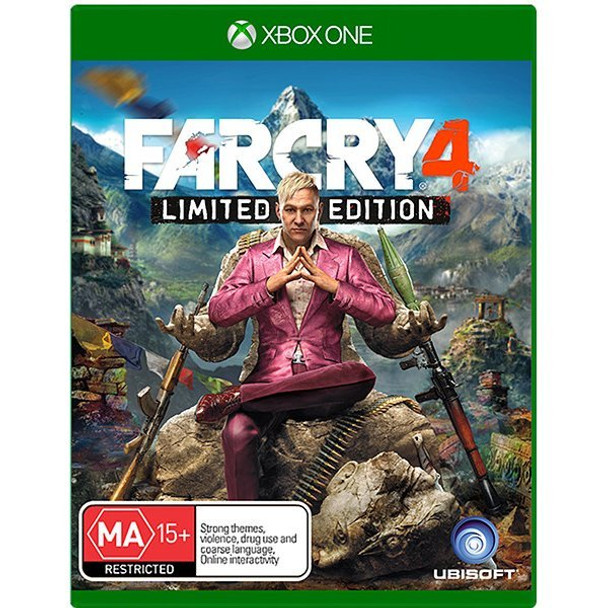Far Cry 4 Limited Edition (Xbox One) Rare First Pressing Australian Version
