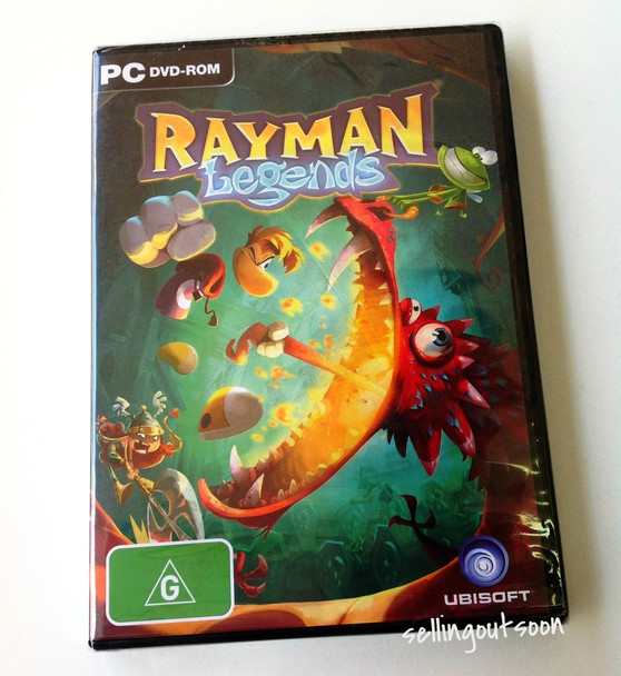 Rayman Legends (PC) Day One Australian Version