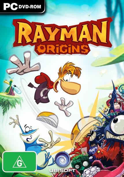 Rayman Origins (PC) Rare Original Day One Australian Version