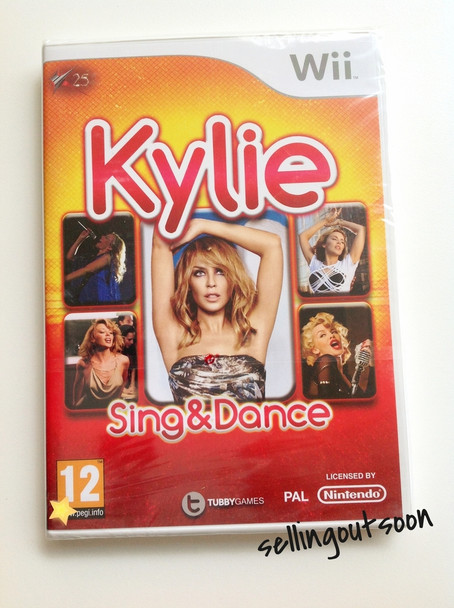 Kylie Sing & Dance (Wii) (Wii U) Official PAL Version