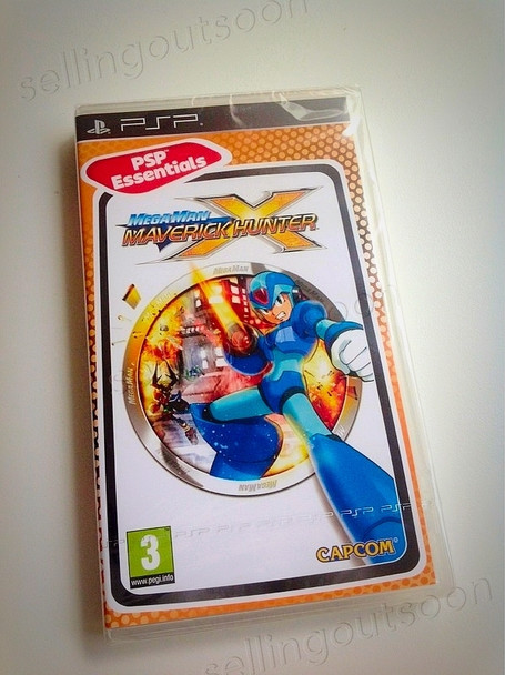 Mega Man Maverick Hunter X (PSP) Rare PAL Version