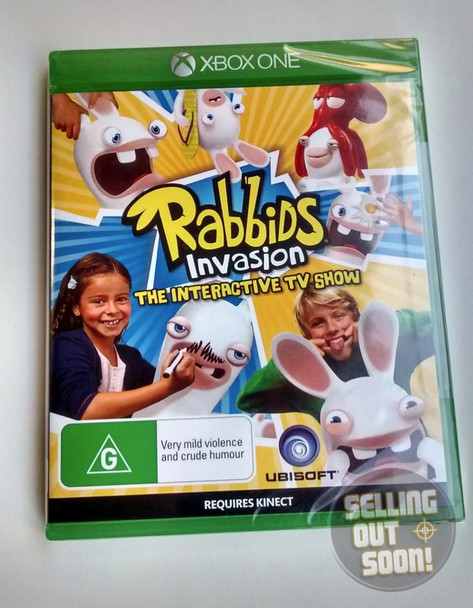 Rabbids Invasion The Interactive TV Show (Xbox One)