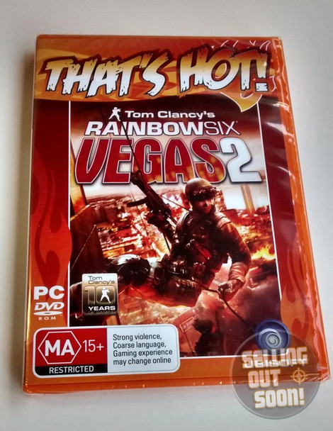 Rainbow Six Vegas 2 (PC) Australian XP Vista Only