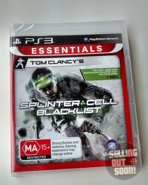 Splinter Cell Blacklist (PS3) PlayStation 3