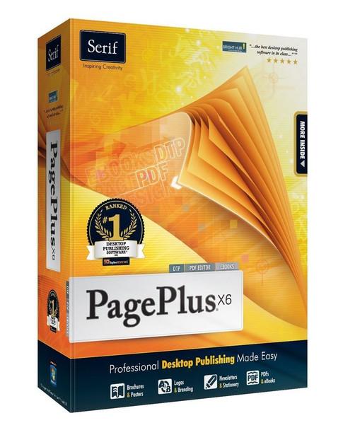 Serif PagePlus X6: Professional Desktop Publishing Made Easy (PC)