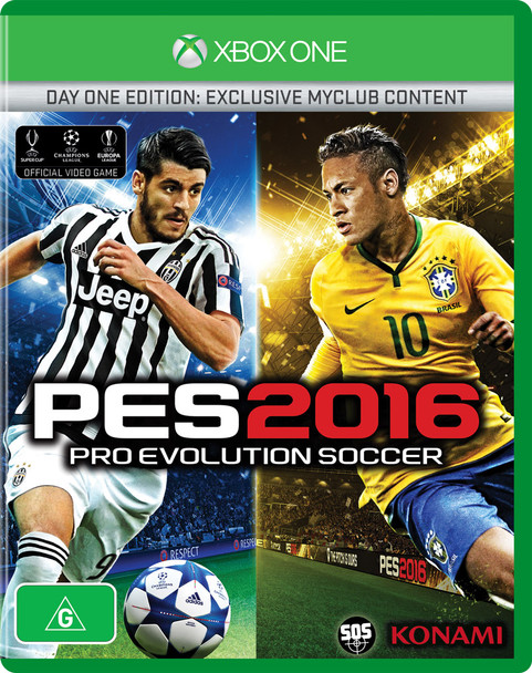 Pro Evolution Soccer 2016 (Xbox One) Australian Day One Edition PES 16