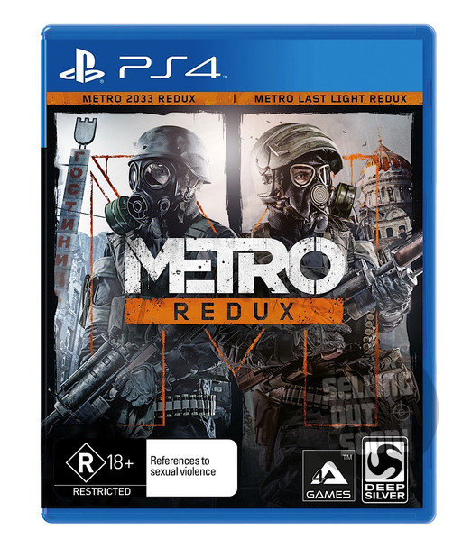 Metro Redux (PS4) Rare Australian Version (First Pressing)