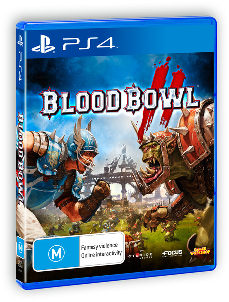 Blood Bowl 2 (PS4) Very Rare Australian Version