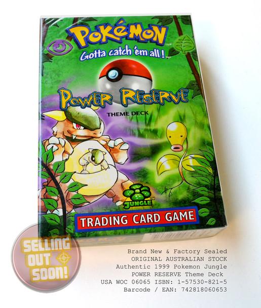 Pokemon Jungle Theme Deck POWER RESERVE (Super Rare, circa 1999)