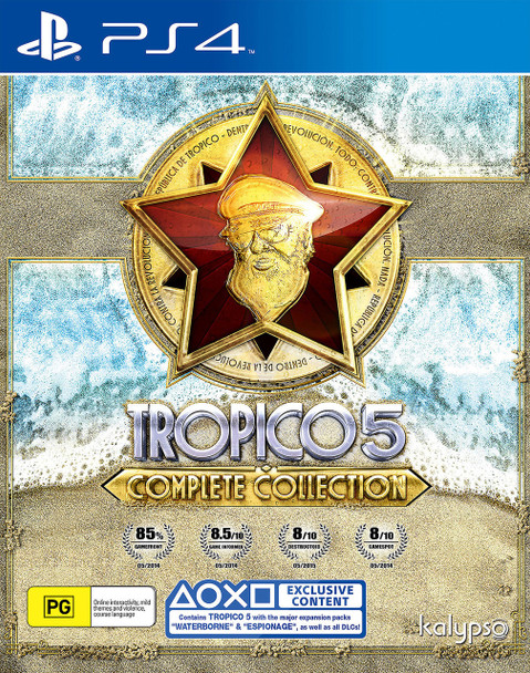 Tropico 5: Complete Collection (PS4) Rare PAL Version