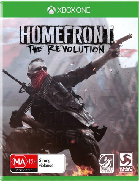 Homefront Revolution (Xbox One) RARE First Press Australian Version