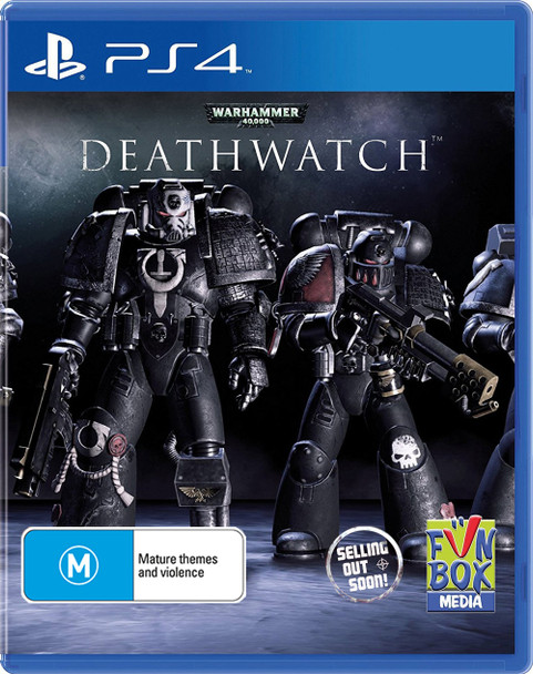 Warhammer 40,000 (40K) Deathwatch (PS4) Rare Australian Version