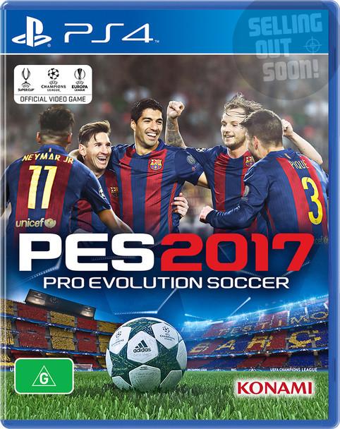 Pro Evolution Soccer 2017 (PS4) Rare Australian Version PES 17