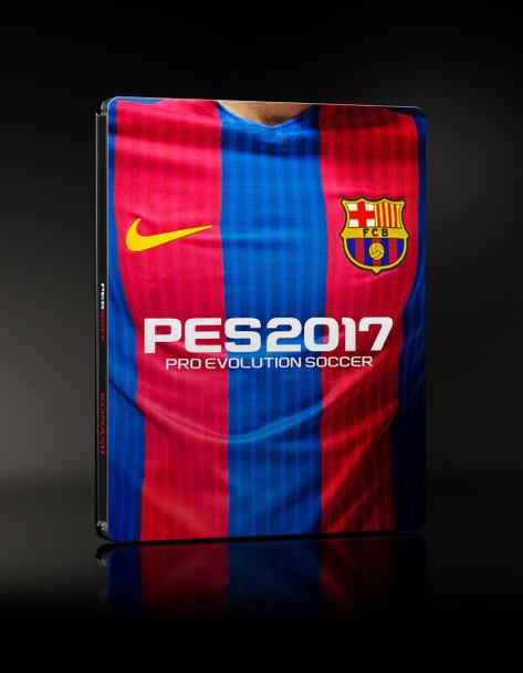 Pro Evolution Soccer 2017 (PS4) FC Barcelona - Very Rare STEELBOOK Edition [Ltd Ed First Pressing]