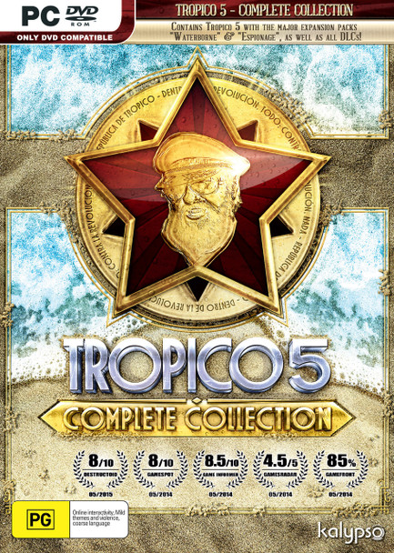 Tropico 5: Complete Collection (PC) Special Edition (Extra DLC)
