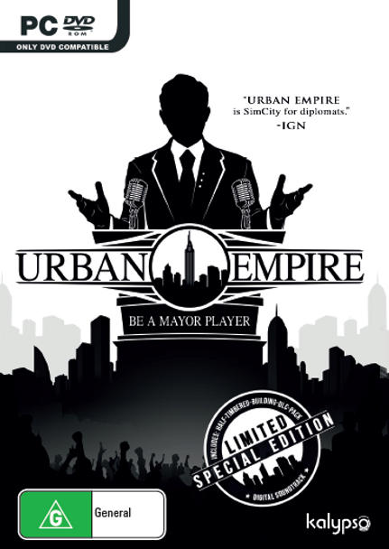 Urban Empire (PC) Limited Special Edition - Australian Version