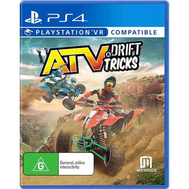ATV Drift & Tricks (PS4) Rare Australian Version - PlayStation VR Compatible