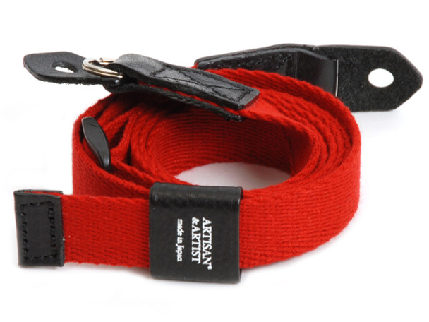 SOLD OUT! Artisan & Artist Camera Strap - 103N Woven Cloth Strap. (Red Only)
