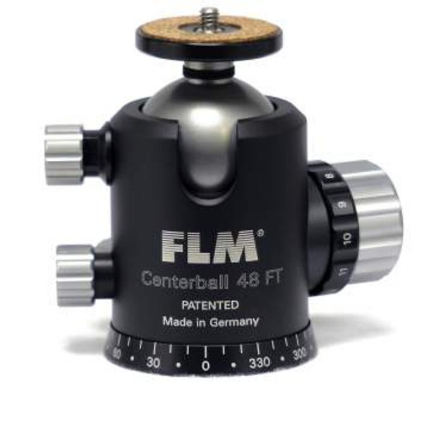 FLM CB-48FTR 48mm Ballhead with tilt function and pan click stop setting