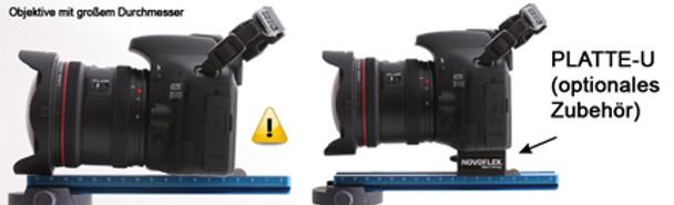 Novoflex QPL-PANORAMA 180mm Nodal Rail, Arca-Swiss Compatible with 1/4 screw and anti-twist bar