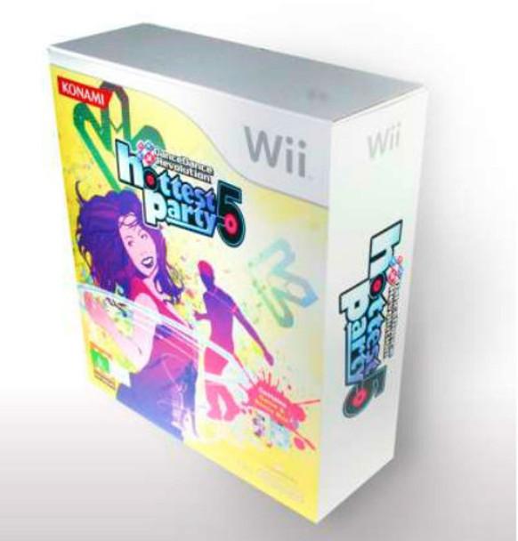 DanceDanceRevolution Hottest Party 5 game + Mat for Nintendo Wii