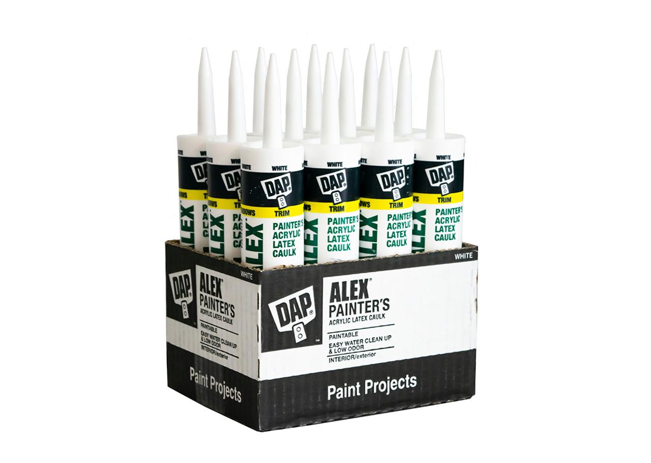 Buy The Box - 12 x DAP Alex Painters Acrylic Caulk, 300ml -Made In The USA!