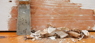 Collecting And Containing The Debris When Paint Stripping.
