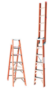 Tradesman Fibreglass Dual Purpose Ladder